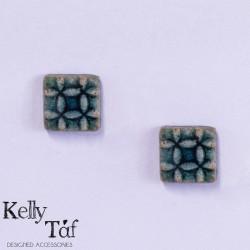 Σκουλαρίκια τετράγωνα